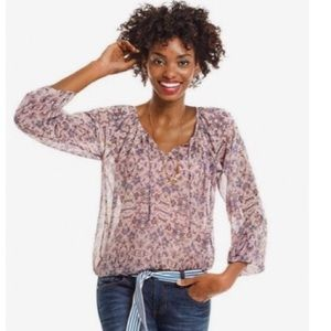 Cabi Sienna Floral Blouse 5028